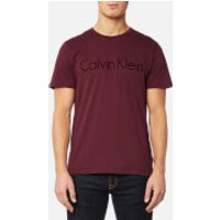 Calvin Klein Men's Jalo 5 Embroidered T-Shirt - Zinfandel - S - Burgundy