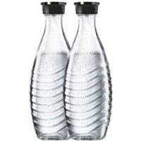 SodaStream Crystal Carbonating Glass Carafe 600ml (Set of 2)