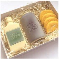 Gin and Tonic Handmade Dark and White Belgian Chocolates - Handmade Gifts