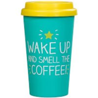 Happy Jackson Wake Up and Smell the Coffee Travel Mug