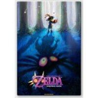 Nintendo Legend of Zelda Majoras Mask Forest Chromalux High Gloss Metal Poster