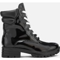 Kendall + Kylie Womens East Leather Lace Up Boots - Black - UK 7 - Black