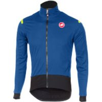 Castelli Alpha Ros Long Sleeve Jersey - Ceramic Blue - M - Blue