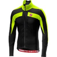 Castelli Trasparente 4 Jersey - XL - Light Black/Yellow Fluo