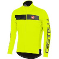 Castelli Raddopia Jacket - Yellow Fluo/Reflex - XL - Yellow