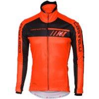 Castelli Velocissimo 2 Jacket - Orange/Black - XL - Orange/Black