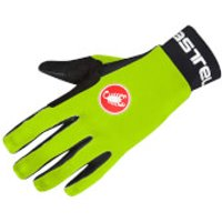 Castelli Scalda Gloves - Yellow Fluo/Black - S - Yellow/Black