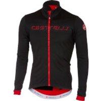 Castelli Fondo Jersey - S - Black/Red