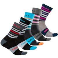 Castelli Gregge 15 Socks - L-XL - Climbing Ivy/Light Steel Blue