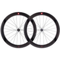 3T R Discus C60 Tubeless Ready Team Stealth Front Wheel - Black - 60mm