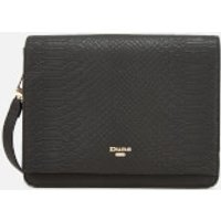 Dune Womens Daschellie Cross Body Bag - Black Reptile