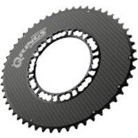 Rotor Qarbon Q Chainring 5 Bolt - 50T - 110BCD - Black