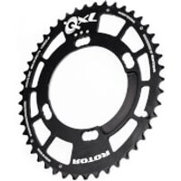 Rotor QXL Inner Chainring 4 Bolt (Shimano) - 44T - 110BCD - Black