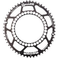 Rotor Q Outer Chainring 5 Bolt - 50T - 110BCD - Black