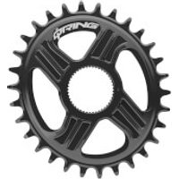 Rotor Q Direct Mount Hawk & Raptor Chainring - 34T - 110BCD - Black