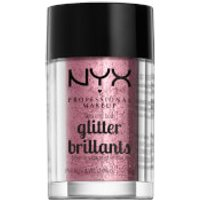 NYX Professional Makeup Face & Body Glitter (Various Shades) - Rose
