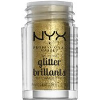NYX Professional Makeup Face & Body Glitter (Various Shades) - Gold