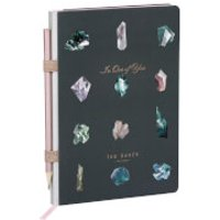 Ted Baker A5 Linear Gem Notebook and Pencil