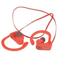 AV: Link Waterproof Wireless Bluetooth In-Ear Activity Earphones - Red - Earphones Gifts