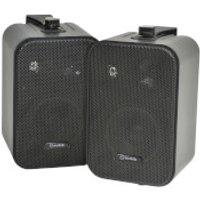 AV: Link B30-B Duo Speakers Includes Wall Mounting Brackets - Black