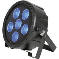 QTX High Power 6 x COB LED Plastic Par Can