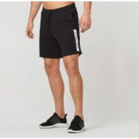 Logo Shorts - Black - S - Black