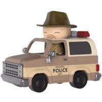 Stranger Things Hopper and Sheriff Deputy Truck Dorbz Ride Vinyl Figure