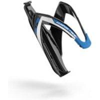 Elite Custom Race Resin Bottle Cage - Black/blue