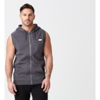 Tru-Fit Sleeveless Hoodie - Charcoal - XL - Charcoal