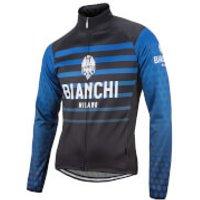 Bianchi Vettore Jacket - Black/Blue - L - Black/Blue