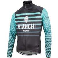 Bianchi Vettore Jacket - Black/Celeste - L - Black/Celeste