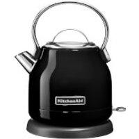 KitchenAid 5KEK1222BOB 1.25L Traditional Dome Kettle - Onyx Black