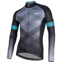 Nalini Merak Long Sleeve Jersey - Black/Grey - M - Black/Grey