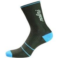 Nalini Gamma Compression Socks - Black/Blue - XXL - Black/Blue