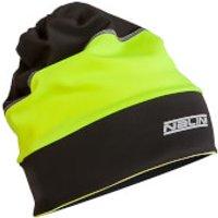 Nalini Warm Gaitor Cap - Black/Fluro - S/M - Black/Yellow