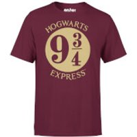 Harry Potter Platform Burgundy T-Shirt - XXL - Burgundy - Harry Potter Gifts