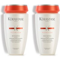 Kerastase Nutritive Bain Satin 2 250ml Duo