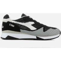 Diadora Men's V7000 Weave Trainers - Black/White - UK 8 - Black