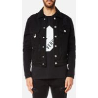 Versus Versace Men's Denim Jacket - Black - S/36 - Black