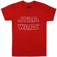 Star Wars Boys The Last Jedi Rebel Text Logo T-Shirt - Red - 11-12 Years - Red