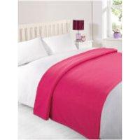Dreamscene Soft Fleece Throw (120 x 150cm) - Pink
