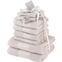 Highams 100% Cotton 10 Piece Towel Bale (500GSM) - Natural