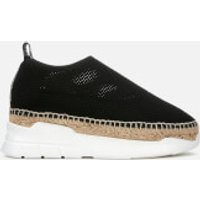 KENZO-Womens-Sporty-Runner-Espadrilles-Black-UK-8EU-41-Black