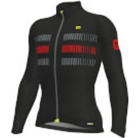 Ale PRR 2.0 Strada Jersey - Black/Red - M - Black/Red