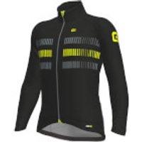 Ale PRR Strada Jacket - M - Black/Yellow