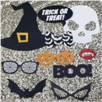 Ginger Ray Halloween Photo Booth Props - Trick or Treat - Halloween Gifts