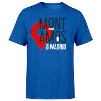 Mont Amos A Madrid Blue T-Shirt - M - Blue