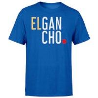 Elgancho Mens Blue T-Shirt - XL - Blue