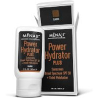 Menaji Power Hydrator PLUS Broad Spectrum Sunscreen SPF30 + Tinted Moisturiser 60ml - Dark