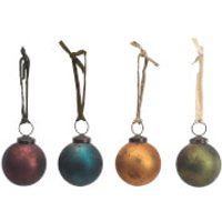Nkuku Oko Baubles - Large (Set of 4)